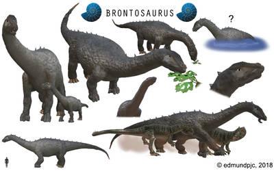 Spore Dinosaurs: Brontosaurus by edmundpjc