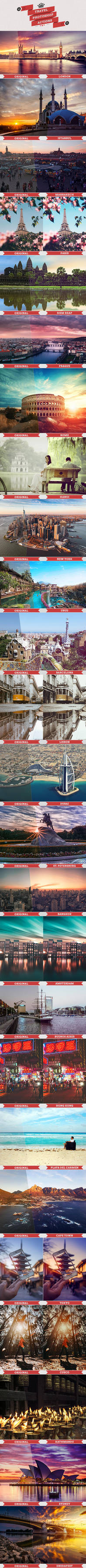 25 Travel Actions by ResourcesArt