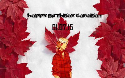 Happy BDAY Canada by JemTheWarlockFaerie