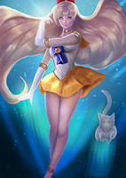 Sailor Venus by Castonia