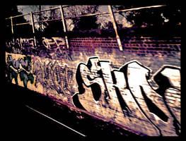 graffiti by waddz