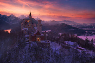 . : Des Eiskoenigs Schloss : . by PfisterMartin