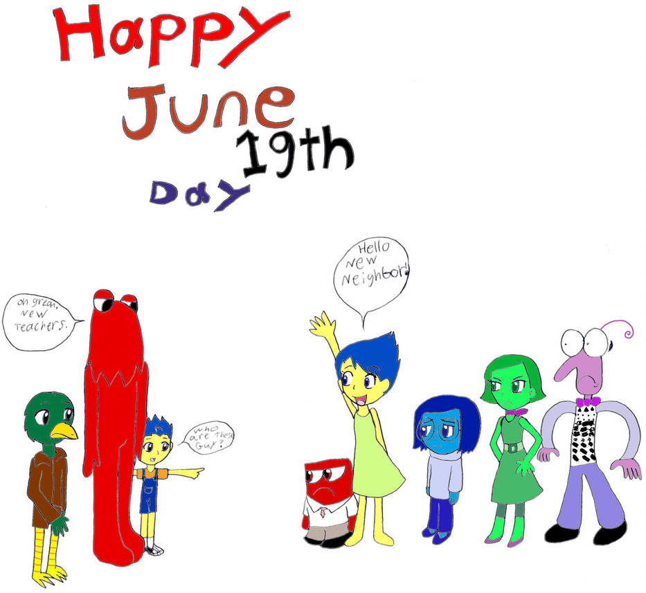 Happy June 19th Day By Pokeneo1234