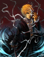 FANART: Ichigo Vaizard v.3 by Quirkilicious