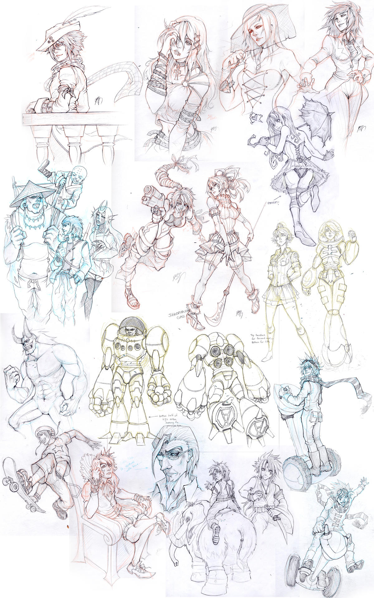 Sketch Attack: Miscellaneous by Quirkilicious