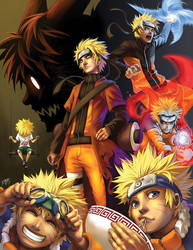NARUTO by Quirkilicious