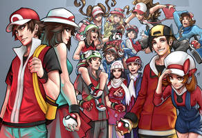 Pokemon Generations by Quirkilicious