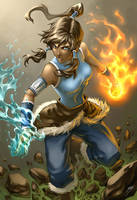 Avatar Korra by Quirkilicious