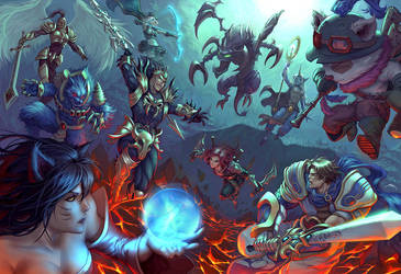 Summoner's Rift by Quirkilicious