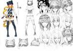 [VRO] Character Design: Neko Noire by RobotCatArt