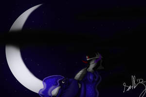 Cloudy Night by Tediz-Leader