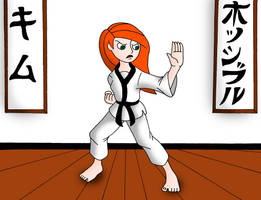 Karate Kim by streetgals9000