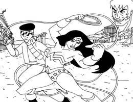 HAMR - Wonder Woman by streetgals9000