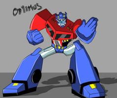 TFA - Optimus says STOP! by JAZcabungcal