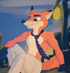 Sly Fox by JAZcabungcal