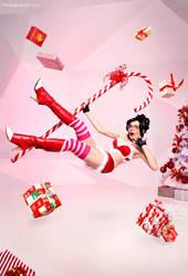 Christmas Vayne by clodia-romero