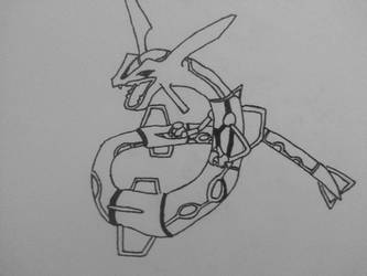Rayquaza by Joansblade