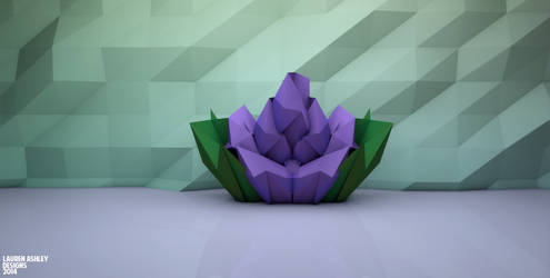 Flower Poly 3 by omglauren
