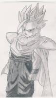 Teen Gohan sketch by 1Meh1