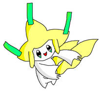 Jirachi ms paint by 1Meh1