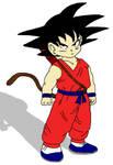 Kid Goku Paint by 1Meh1