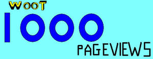 1000 Pageviews by 1Meh1