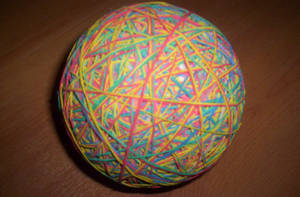 Eleastic Band Ball by 1Meh1