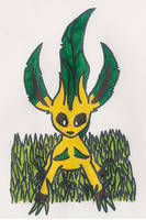 Leafeon by 1Meh1