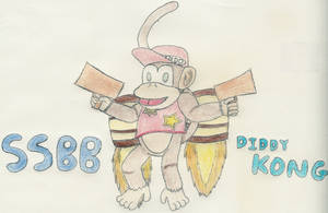 Diddy Kong by 1Meh1
