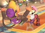 Luigi Punch by 1Meh1