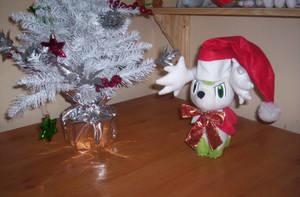Shaymin says Merry Christmas by 1Meh1