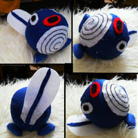 Poliwag Plush 2 by 1Meh1