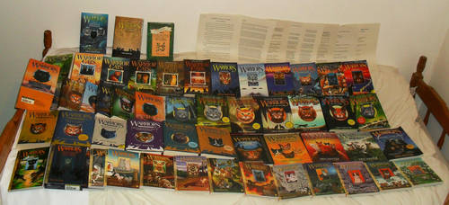 My Warrior Cats collection 2 by 1Meh1