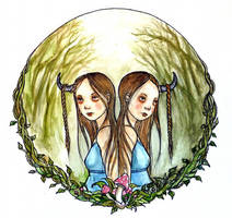 Willow + Yarrow by hello-magpie
