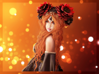 Princess of autumn by chichidesign