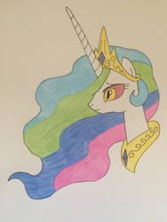 Celestia feeling Daybreaker's power by Infernapelover
