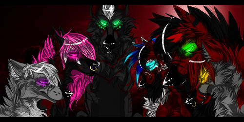 We Are Red Ravage Gods by Carnizzoi