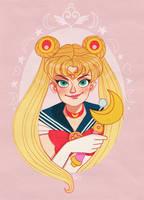 Sailor Moon by DixieLeota