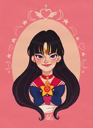 Sailor Mars by DixieLeota