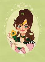 Sailor Jupiter by DixieLeota