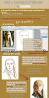 PHOTOSHOP tutorial: painting from reference by ShariKia