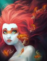 Goldfish by snowbean