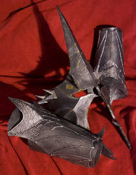 Witch King Helm and Vambraces by Xaerael