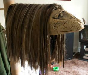 Dark Crystal Mystic head by Xaerael