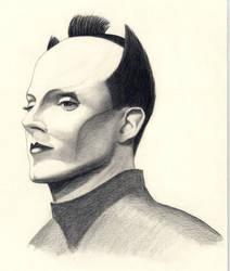 Portrait of Klaus Nomi by TrylonPerisphere