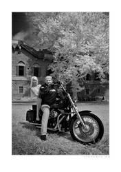 Harley Davidson by infrared-dreams
