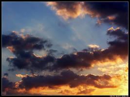 Mediterranean - Clouds IV by Hiersein