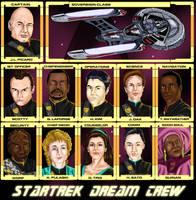 My Star Trek Dream Crew by jadzii