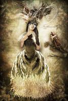 Featherwoman by CindysArt