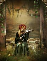 A peaceful heart by CindysArt